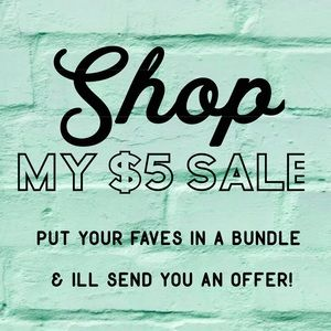 Shop my $5 sale!
